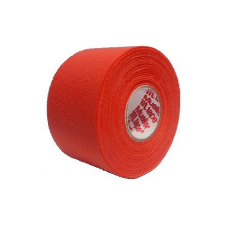 M-Tape Colored Athletic Tape - Orange, 32 Rolls by Mueller