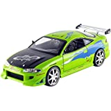 Jada Toys - 97603GR - Mitsubishi Eclipse - Fast And Furious - Échelle 1/24 - Vert