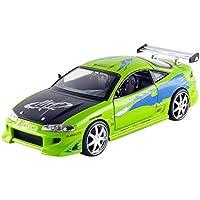 Jada Toys Fast & Furious Diecast Brian's Mitsubishi Eclipse Vehicle (1:24 Scale)