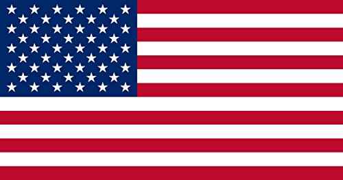 SoCal Flags USA Flag from 2x3 Foot Polyester Flag - Sold by A Proud American Company - Durable 100d Material Not See Thru Like Other Brands Weather -