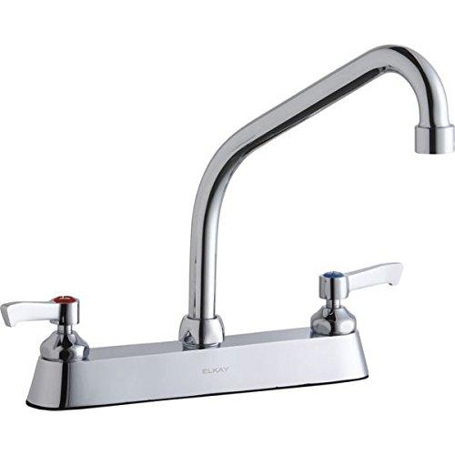 (Elkay LK810HA08L2 Centerset Exposed Deck Faucet with 8