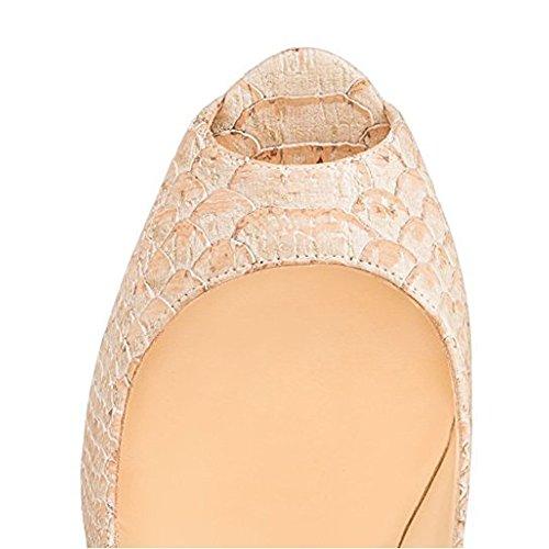 MERUMOTE - Zapatos con tacón Mujer Schlangenhaut