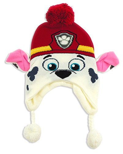 Paw Patrol Marshall Laplander Hat for Toddlers and Little (Marshall Hats)
