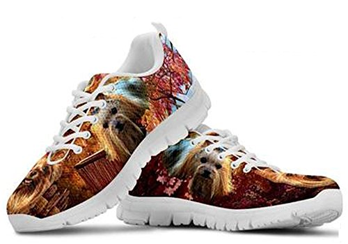Yorkshire Casual Brand 11 Print Terrier Cute Sneakers Dog Men's gxzFx