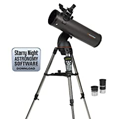 The popularity of our NexStar 114 models inspired us to go bigger! We are proud to introduce NexStar 130SLT. The NexStar 130SLT has 30% more light-gathering power than our 114 mm telescope. And the 130SLT, like the other models in the SLT Ser...