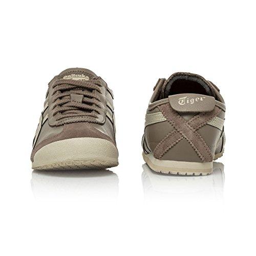 da Sneakers Mexico Basse Adulto Asics Taupe 66 Ginnastica Unisex Grigio Grey Scarpe Latte qwfEISdxI