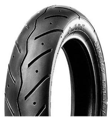 IRC MB90 Scooter Tire - Front/Rear - 80/100-10 , Position: Front/Rear, Tire Size: 80/100-10, Rim Size: 10, Load Rating: 46, Speed Rating: J, Tire Type: Scooter/Moped T10319 by IRC (Image #1)