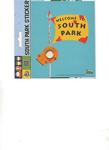 SOUTH PARK KENNY FLAG STICKERS SOUTH PARK DC COMICS CARTOON COLLECTIBLE POPULAR (Sp3 Car)