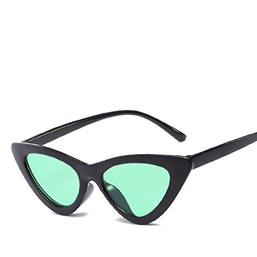 No16 RinV Sol Mujer De Disco Hombres NO5 Moda De Espejo para Pieza Gafas Marco para De Sol Moda Gafas Viaje De Triángulo Marina BrnH6Bx
