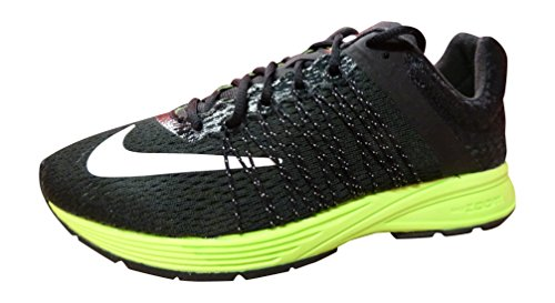 Basketball Silver Streaks (NIKE Air Zoom Streak 3 Mens Running Trainers 641318 Sneakers Shoes (US 5.5, Black White Reflective Silver Volt 007))