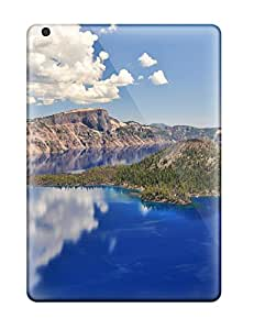 Awesome Design Crater Lake Oregon Hard Case Cover For Ipad Air 9301166K18452262