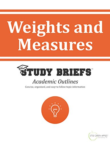 (Weights and Measures)