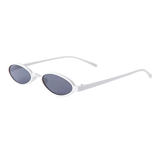 Amazon com: FORUU Glasses, Women Fashion Unisex Oval Shades