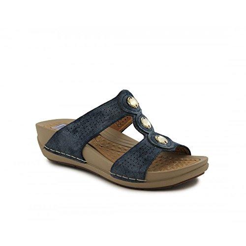 Bleu Chaussures 6557 Marine Femme Benavente 41 Eu BaRv0qn