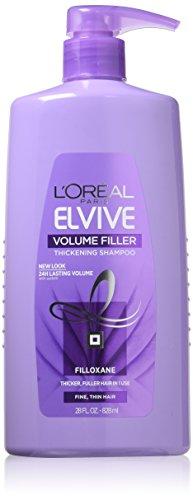 Hair Thickener Volumizing Shampoo (L'Oréal Paris Hair Expert Volume Filler Thickening Shampoo, 28 fl. oz. (Packaging May Vary))
