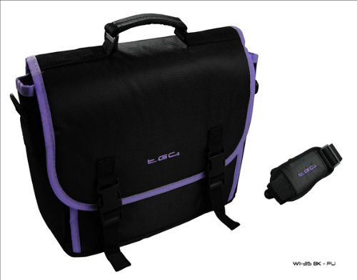 Style Black Bag Trim amp; Microsoft for Messenger New Surface Tablet Purple Case wtCX4pWCqc