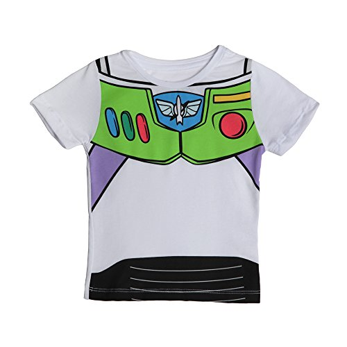 [Toy Story I Am Buzz Toddler T-Shirt (2T)] (Buzz Lightyear Costumes Women)