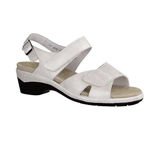 Semler Heidi - Sandalias de vestir de Piel para mujer Blanco blanco Blanco - blanco