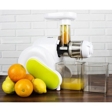 Electriq Horizontal Slow Masticating Juicer Fruit Vegetable Juice Extractor Review : ElectriQ Slow Masticating Horizontal Juicer 1L Fruit ...