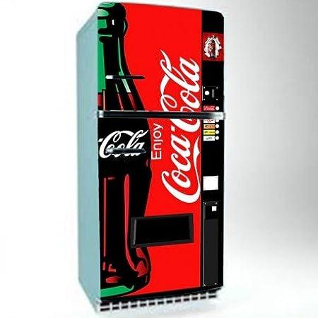 Vinilo nevera pegatinas para frigoríficos Refrigerator Wrap Vinyl ...