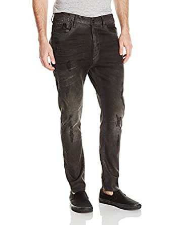 G-Star Raw Men's Type C Back Zip 3D Super Slim Jean, Dark Aged Restored, 30x32