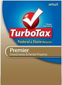 Amazon.com: TurboTax Premier Federal + E-file + State 2011 ...