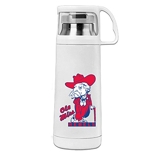 HAULKOO University Of Mississippi Colonel Stainless Steel Vacuum Cup