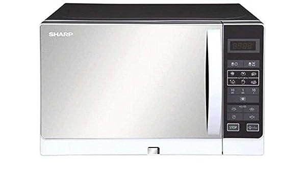 Sharp r-60ac (S) 20-liter 800-watt microondas horno, 220 ...