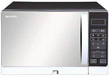 Sharp r-35ac (S) 25-liter 900-watts microondas horno,