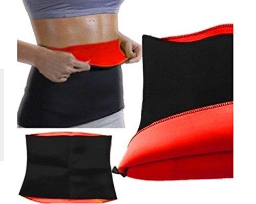 Tuesdays2 Hot Sweat Neoprene Shapers Slimming Belt Waist For Weight Loss Women & Men (Red, XXXL)
