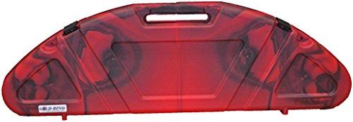 Custom Manufacturing Genesis Hard Bow Case Red/Black Swirl - Vision Longbow