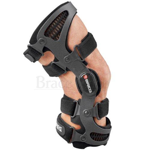 - Breg Men's Fusion W/airtech Knee Brace (Left Knee) (Medium +)