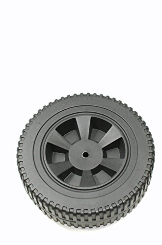 Plastic Replacement Parts - Wheel 7 Inch Plastic Black Blow Molded (G437-0037-W1)