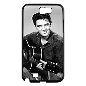 DIY Protective Snap-on Hard Back Case Cover for Samsung Galaxy Note 2 N7100 with Elvis Presley