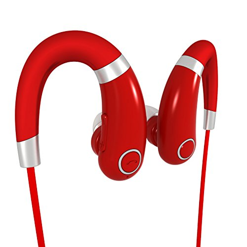 Bluetooth Headphones Headset Rymemo Wireless Sweatproof Earbuds Stereo Sports Earhook Earphones with Enhanced Bass