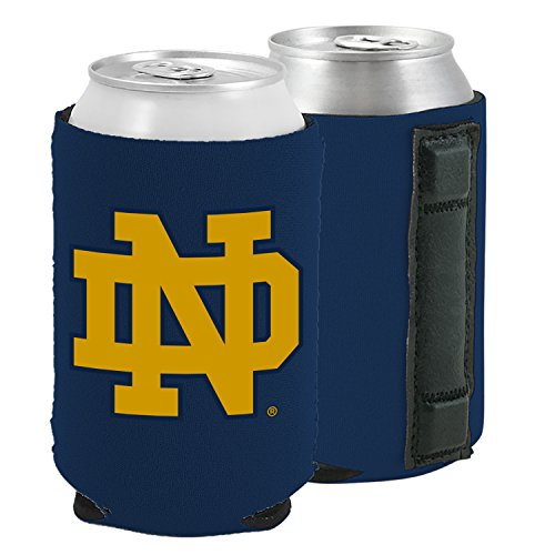 Notre Dame Tailgater - Magnetic Kolder Kaddy NCAA Can Cooler Coolie, One Piece (Notre Dame Fightin' Irish)