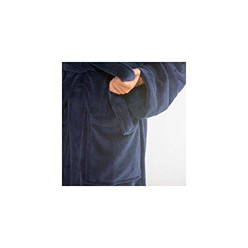 Nevada Cuello Polar Con Suave Azul Beige 2 Mujer Creme Muy azul Atex Hombre Pequeño Suave Celin Medio Mit Bata Agradable Forro Coral Oscuro Albornoz Y nbsp;colores De Microfibra XvxaOIw