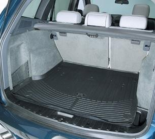 Mat E83 - BMW E83 X3 2.5i 3.0i 3.0si 2005-2010 All Weather Cargo Trunk Liner Mat Black