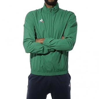 Le Coq Sportif N°1 Training Homme Sweat Vert  Amazon.fr  Vêtements et  accessoires 5182e965ddf4