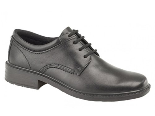 discount geniue stockist Walkair LYLE Mens Leather Lace-Up Waterproof Gibson Shoes Black Black cheap sale prices buy cheap get to buy sale shop offer cheap footaction wG3mHW0
