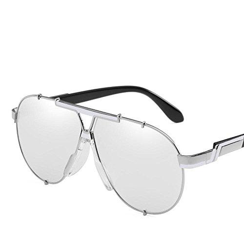 Shing Metal Gafas de F Espejo Hombres en y Unidos Personalidad de los de Sol Europa Gafas Sol Movimiento de Axiba Gafas Regalos creativos Retro Sol Estados vAa8qnP44w