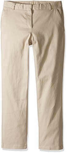 Uniform Khaki Girls Flat Front - 6