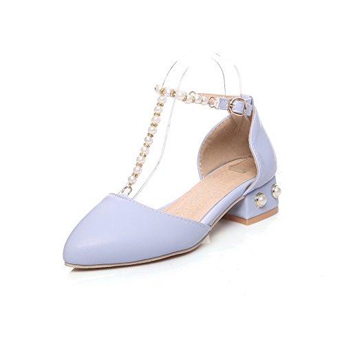 Bleu Aimint Femme 5 36 Sandales EU EYR00262 Bleu Compensées r7w1qrx