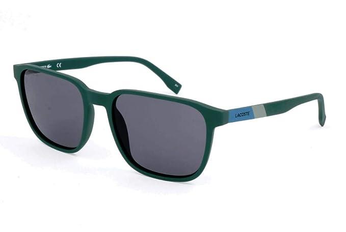 Lacoste Sonnenbrille L873s Gafas de Sol, Matte Green, 55 ...