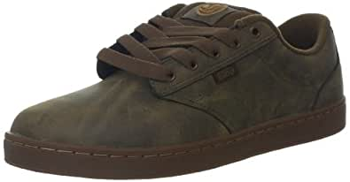 DVS Men's Inmate Shoe,Brown Leather,9.5 M US