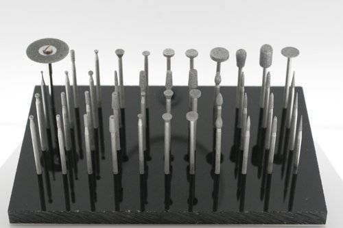 Lasco's Deluxe Carving Kit - 44pcs Diamond Burs 3/32'' Shank (Made in the USA) by LASCO