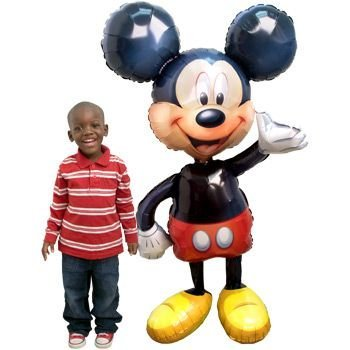 Mickey Airwalker Balloon (Each) - Party Supplies (Mickey Mouse Airwalker Balloon)