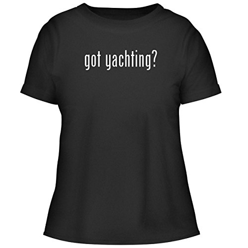BH Cool Designs got Yachting? - Cute Women's Graphic Tee, Black, Large ()