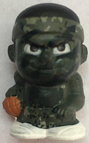 Party Animal Teenymates NBA Dribblers Series 2 Camouflage Camo CHASE TEENYMATE RARE Figure Minifigure (1:54 Packs)