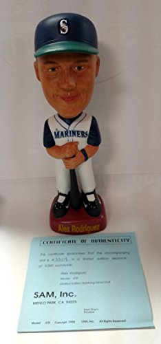 Seattle Mariners Alex Rodriguez SAM's Limited Edition Bobblehead Bobbing Head Doll